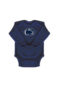 Penn State Nittany Lions Baby Navy Blue Mascot One Piece