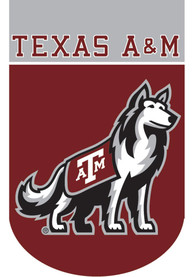 Texas A&M Aggies 28x40 Applique Sleeve Banner