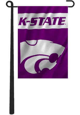 K-State Wildcats 13x18 Purple, White Garden Flag