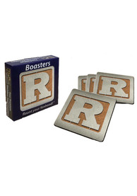 Rutgers Scarlet Knights 4pk Stainless Steel Coaster