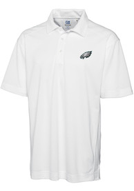 Philadelphia Eagles Cutter and Buck Genre Polo Shirt - White
