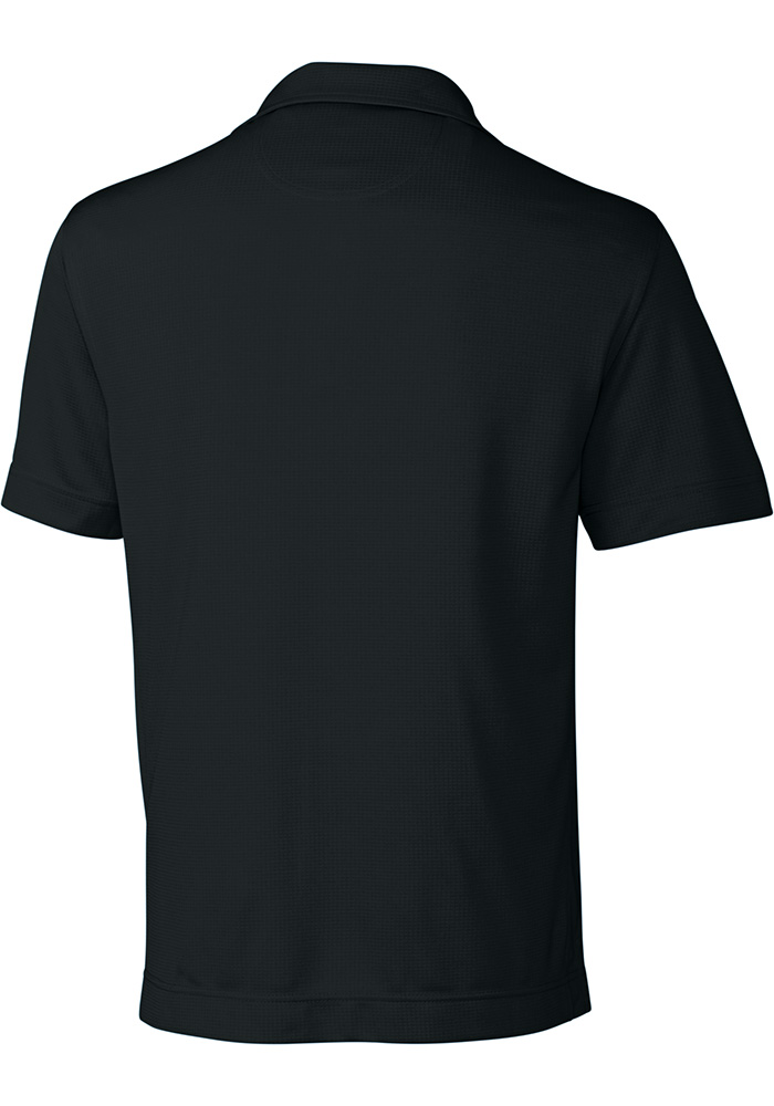 Cutter and Buck Wichita State Shockers Mens Black Genre Short Sleeve Polo - Image 2