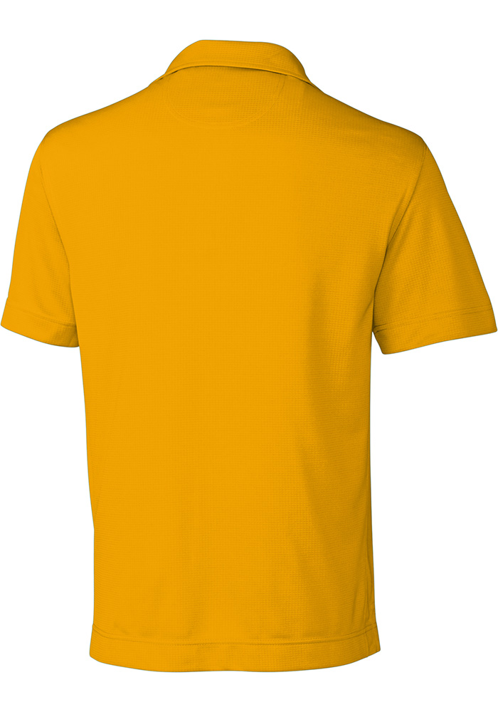 Cutter and Buck Wichita State Shockers Mens Gold Genre Short Sleeve Polo - Image 3