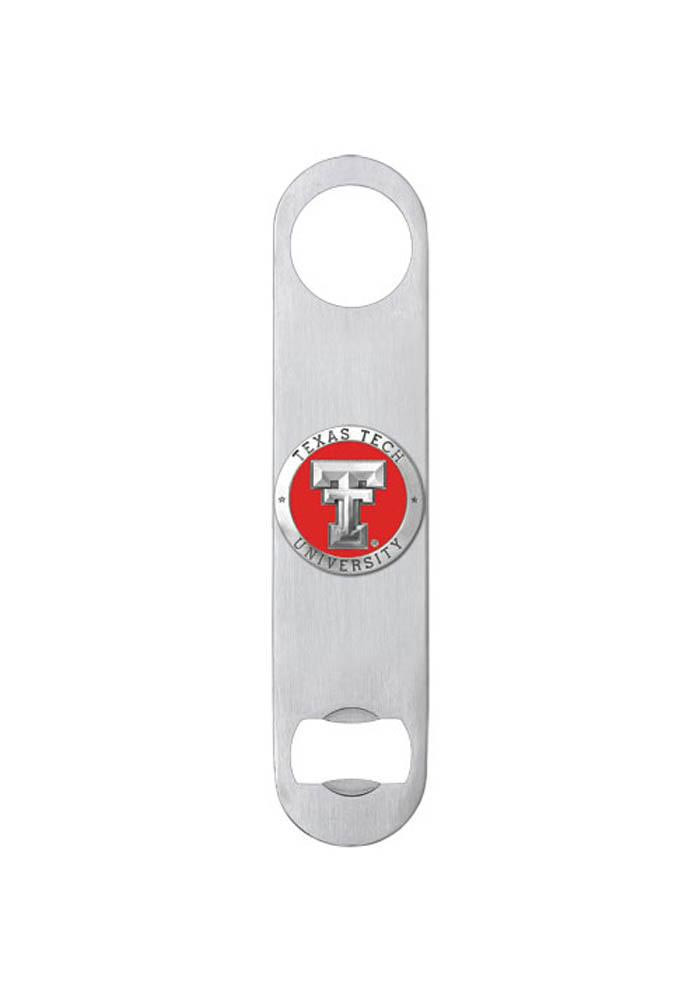 Texas Tech Red Raiders Pewter Bottle Opener - Image 1