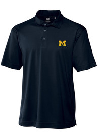 Michigan Wolverines Cutter and Buck Genre Polo Shirt - Navy Blue