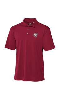 Bloomsburg University Huskies Cutter and Buck Genre Polo Shirt - Maroon