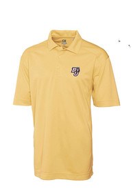 Bloomsburg University Huskies Cutter and Buck Genre Polo Shirt - Gold