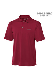 Muhlenberg College Cutter and Buck Genre Polo Shirt - Maroon