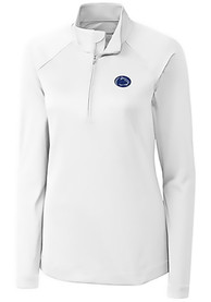 Penn State Nittany Lions Womens Cutter and Buck Evolve 1/4 Zip - White