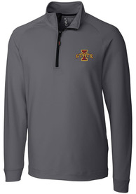 Iowa State Cyclones Cutter and Buck Jackson 1/4 Zip Pullover - Grey