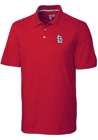 St Louis Cardinals Cutter and Buck Fairwood Polo Shirt - Red