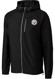 Pittsburgh Steelers Cutter and Buck Anderson Light Weight Jacket - Black