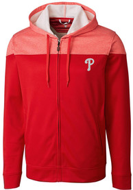 Philadelphia Phillies Cutter and Buck Pop Fly Zip - Red