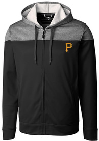 Pittsburgh Pirates Cutter and Buck Pop Fly Zip - Black