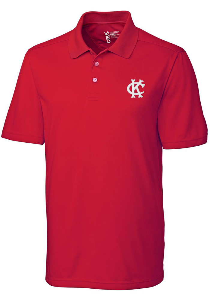 Kansas City Athletics Cutter and Buck Fairwood Polo Shirt - Red