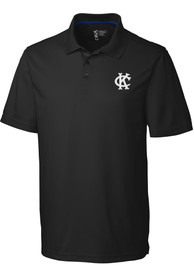 Kansas City Athletics Cutter and Buck Fairwood Polo Shirt - Black