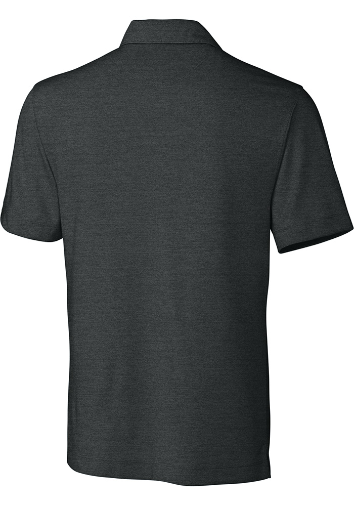 Cutter and Buck Wichita State Shockers Mens Grey Chelan Short Sleeve Polo - Image 2