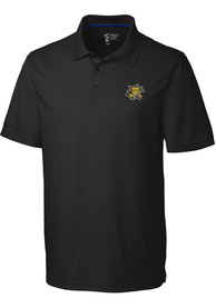 Wichita State Shockers Cutter and Buck Fairwood Polo Shirt - Black