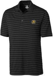 Cutter and Buck Wichita State Shockers Mens Black Franklin Short Sleeve Polo