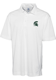 Michigan State Spartans Cutter and Buck Genre Polo Shirt - White