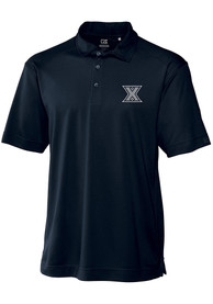 Xavier Musketeers Cutter and Buck Genre Polo Shirt - Navy Blue