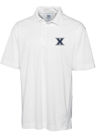Xavier Musketeers Cutter and Buck Genre Polo Shirt - White