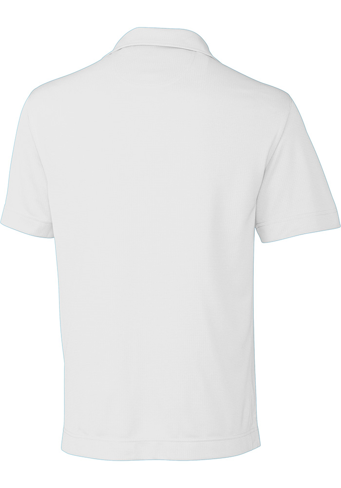 Cutter and Buck Xavier Musketeers Mens White Genre Short Sleeve Polo - Image 2