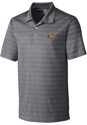 Cutter and Buck Wichita State Shockers Mens Charcoal Interbay Short Sleeve Polo