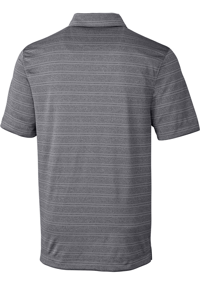 Cutter and Buck Wichita State Shockers Mens Grey Interbay Short Sleeve Polo - Image 2