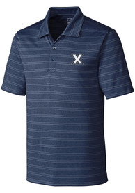 Xavier Musketeers Cutter and Buck Interbay Polo Shirt - Navy Blue