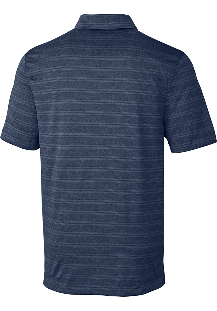 Cutter and Buck Xavier Musketeers Mens Navy Blue Interbay Short Sleeve Polo - Image 2
