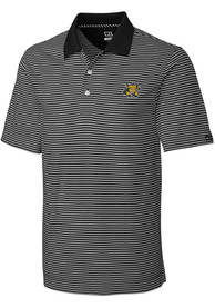 Wichita State Shockers Cutter and Buck Trevor Polo Shirt - Black