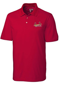 c0dafdbf2d Cutter and Buck St Louis Cardinals Red Fairwood Short Sleeve Polo Shirt
