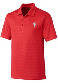 Philadelphia Phillies Cutter and Buck Interbay Polo Shirt - Red