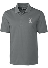 Detroit Tigers Cutter and Buck Fairwood Polo Shirt - Grey