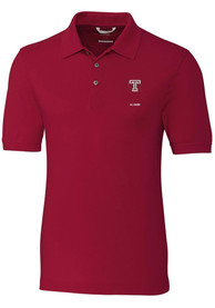 Temple Owls Cutter and Buck Advantage Alumni Polo Shirt - Red