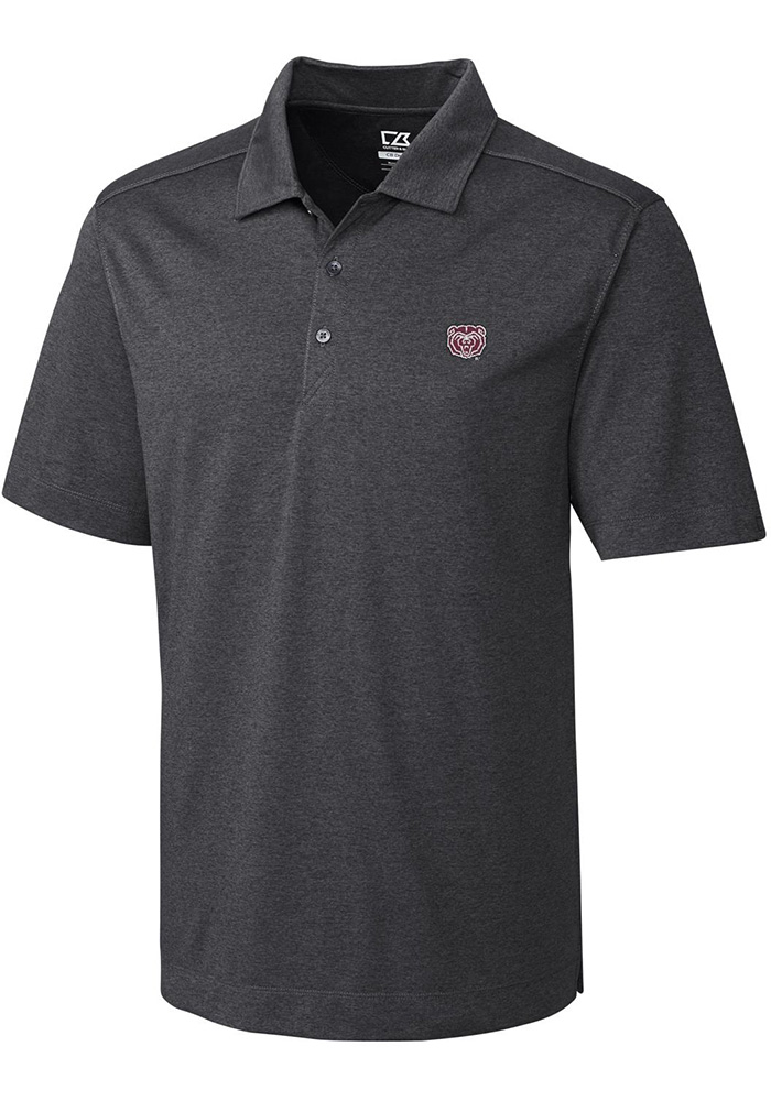 Cutter and Buck Missouri State Bears Mens Grey Chelan Short Sleeve Polo - Image 1
