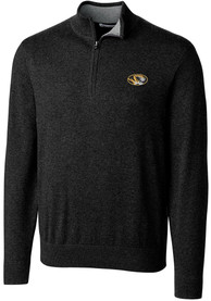 Missouri Tigers Cutter and Buck Lakemont 1/4 Zip Pullover - Black