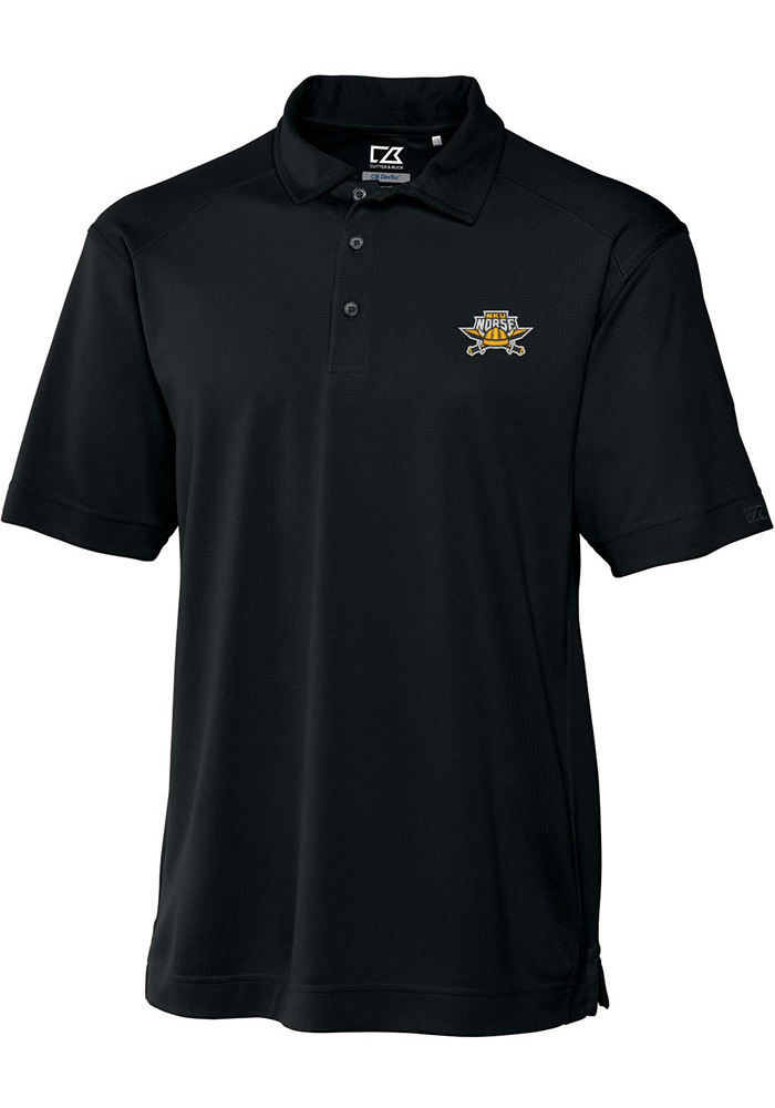 Cutter and Buck Northern Kentucky Norse Mens Black Genre Short Sleeve Polo - Image 1