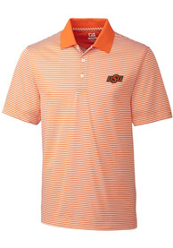 Oklahoma State Cowboys Cutter and Buck Trevor Polo Shirt - Orange