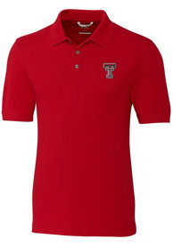 Texas Tech Red Raiders Cutter and Buck Advantage Polo Shirt - Red