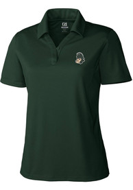 Michigan State Spartans Womens Cutter and Buck Genre Polo Shirt - Green