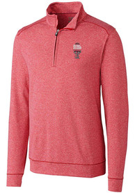 Texas Tech Red Raiders Cutter and Buck Final 4 1/4 Zip Pullover - Red