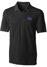 Pitt Panthers Cutter and Buck Forged Polo Shirt - Black