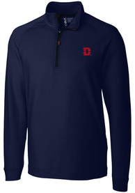 Dayton Flyers Cutter and Buck Jackson 1/4 Zip Pullover - Navy Blue