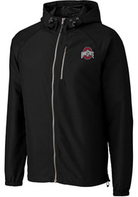 Ohio State Buckeyes Cutter and Buck Anderson Light Weight Jacket - Black