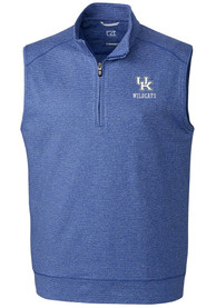 Kentucky Wildcats Cutter and Buck Shoreline Vest - Blue