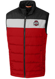 Ohio State Buckeyes Cutter and Buck Thaw Vest - Red