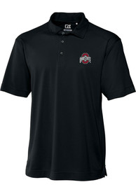 Ohio State Buckeyes Cutter and Buck Genre Polo Shirt - Black