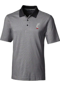 Cincinnati Bearcats Cutter and Buck Forge Polo Shirt - Black